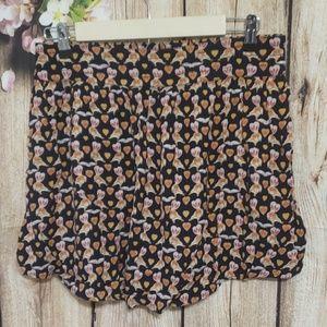 Cooperative squirrel skirt